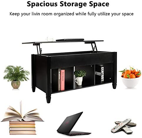 home, kitchen, furniture, living room furniture, tables,  coffee tables 3 on sale SSLine Lift Top Coffee Table with Hidden Compartment deals
