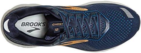 Brooks Ghost 12 Herren-Laufschuh, (Marineblau/Tiefwasser/Gold), 39.5 EU