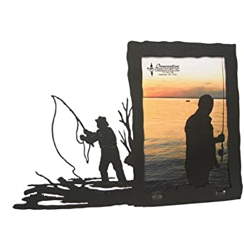 Amazon.com - Fly Fishing 5X7 Vertical Picture Frame - Single Frames