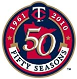 50th Anniversary Lapel Pin - Minnesota Twins Lapel Pin (Button)