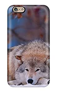New Style MaritzaKentDiaz Hard Case Cover For Iphone 6- Animal Wolf