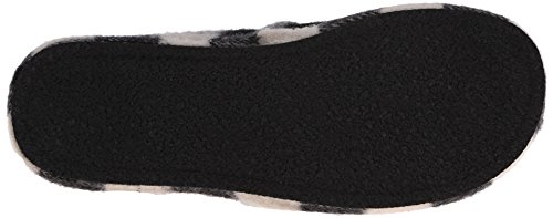 Woolrich Mens Chatham Chill Slipper Nero / Bianco Buffalo Lana Check
