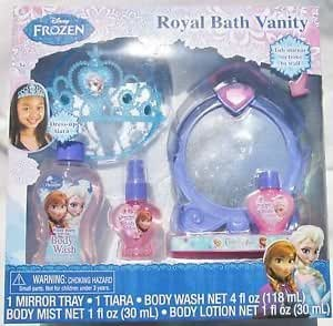 Amazon.com : Disney Frozen Royal Bath Vanity : Beauty