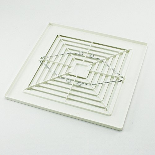 Nutone Bathroom Fan Replacement Grille: Broan-NuTone 97011723 Ceiling Fan Grille With Springs