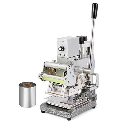 VEVOR 5.5'' x 4'' Hot Stamping Machine, with Silver Foil Paper by VEVOR