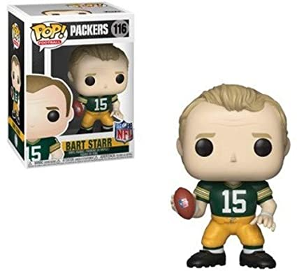 db93b76ad5f Image Unavailable. Image not available for. Color  Funko POP NFL  Legends -  Bart Starr Vinyl Figure