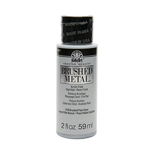 FolkArt Brushed Metal Paint in Assorted Colors (2 oz), 5118 Pale ()