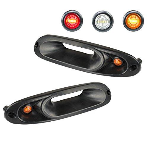 Miata Turn Signal - AutoParts Turn Signal Intakes Miata Orange Lights