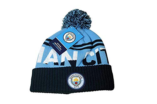 774bd301bf20c Manchester City F.C. Authentic Official Licensed Product Soccer Beanie -  02-1