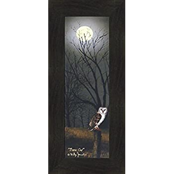 Billy Jacobs Barn Owl Print 6x18