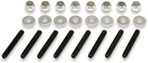 Joes Racing Products 34350 Aluminum Valve Cover Nut Kit with Studs 1//4-20