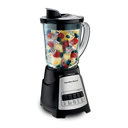 Hamilton Beach Power Elite Blender With 12 Functions For Puree, Ice Crush, Shakes And Smoothies And 40 Oz BPA Free Glass…