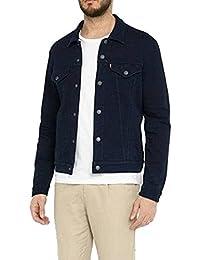 Men's The Trucker Jacket (Large, Nightwatch Blue)