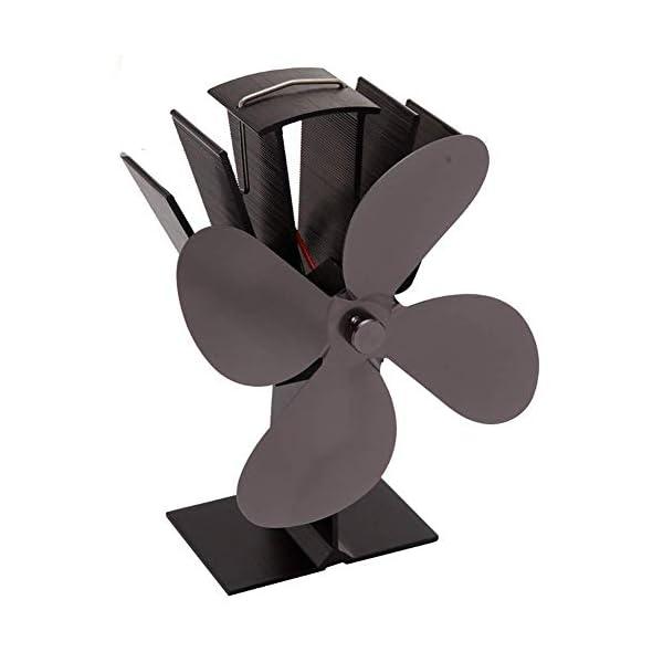 LDM Ventilatore per Stufa a Legna - 4 Pale - Ventilatore per Stufa a Legna Alimentato a Legna - Riscaldamento Ecologico… 2 spesavip