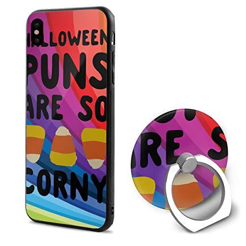 Halloween Puns are So Corny TPU Case Ring
