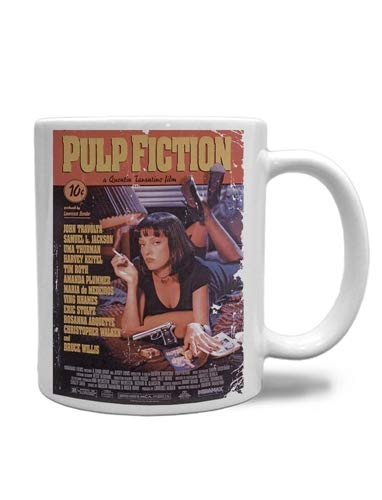 CANECA PULP FICTION POSTER
