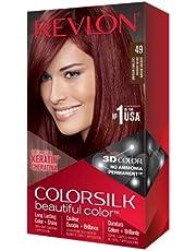 صبغة الشعر كلر سيلك من ريفلون - بني محمر 49