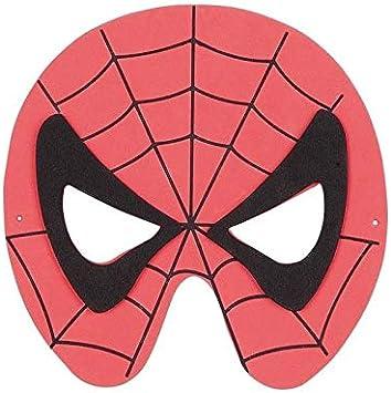 DISBACANAL Antifaz Spider de Goma eva: Amazon.es: Juguetes y juegos