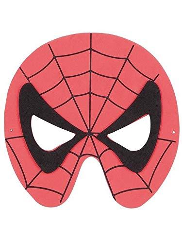 DISBACANAL Máscara Spiderman eva: Amazon.es: Juguetes y juegos