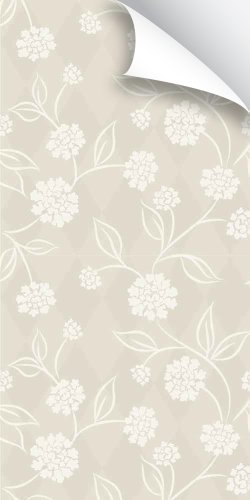 Removeable Wallpaper - Swooping Floral (Aster Paper)