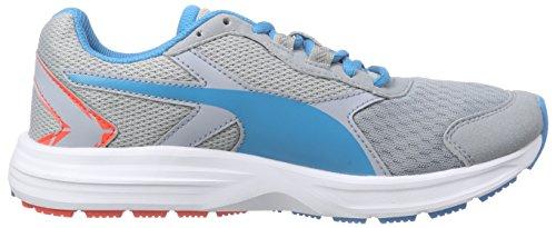 Puma Descendant v3 Jr - zapatilla deportiva de material sintético Gris - Grau (quarry-atomic blue 05)