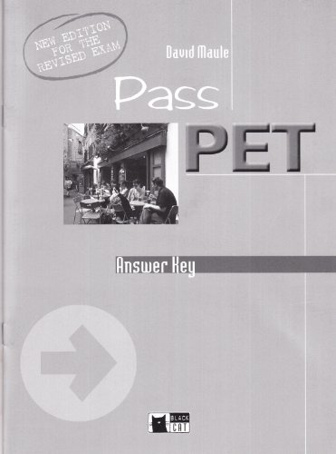 Pass PET: Answer Key