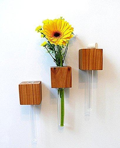 Magnetvase Kirsche Blumenvase Magnethalter Magnet *