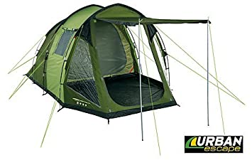 Urban Escape 4 Person / Man Tunnel Tent 1 Bedroom Double Skin  sc 1 st  Amazon UK & Urban Escape 4 Person / Man Tunnel Tent 1 Bedroom Double Skin ...