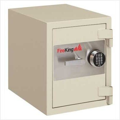 FireKing-FB2218C1-Fire-and-Burglary-Safe-38-Cubic-Feet-215-Wide-1-Shelf-Color-Taupe-Lock-Type-Combination