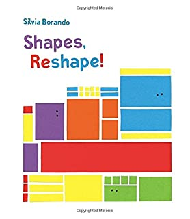 Book Cover: Shapes, Reshape!: A Minibombo Book