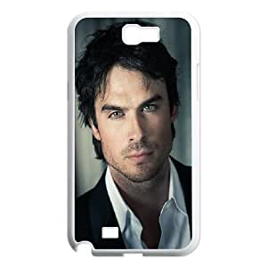 Samsung Galaxy N2 7100 Cell Phone Case White_he05 ian somerhalder actor model celebrity TR2353185