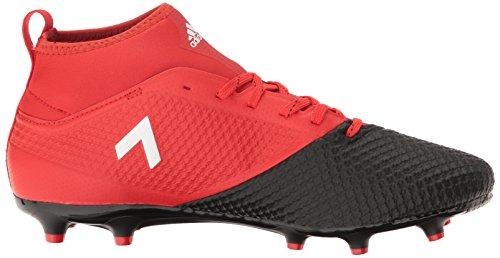 Adidas Originals Mens Ace 17,3 Primemesh Vaste Grond Cleats Voetbalschoen Rood / Wit / Zwart