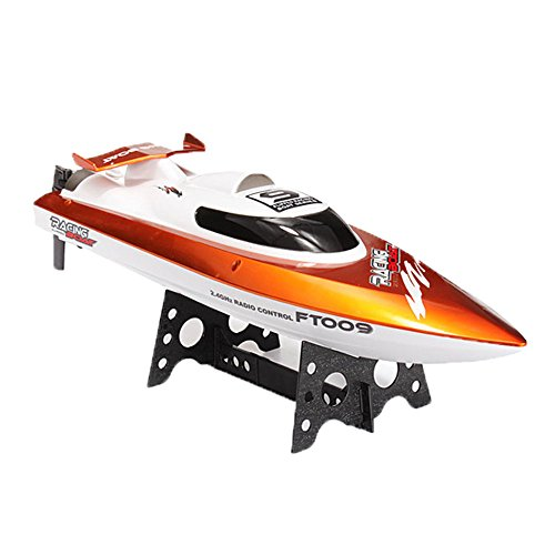 HOSdog BNIB RTR FT009 2.4G 4CH Water Cooling High Speed Racing RC Boat (Red)