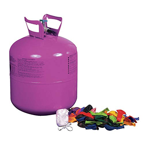 Helium Balloon Rental (Helium Tank Kit for Party (includes balloons and)