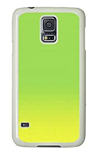 Samsung S5 uncommon case Light Green Best PC White Custom Samsung Galaxy S5 Case Cover