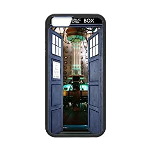 iPhone 6 Protective Case -Tardis Hardshell Cell Phone Cover Case for New iPhone 6 by mcsharks
