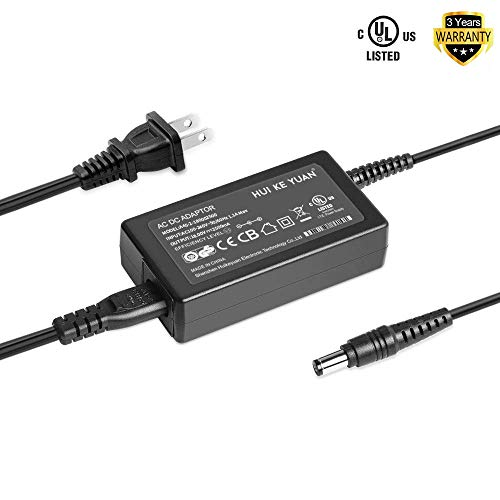 [UL Listed] HKY 18V 45W AC Power Adapter for Cricut Cutting Machine Expression,Expression 2,Original,Cake,Mini,Create KSAH1800250T1M2 Cutting Charger Power Supply 100-240V Wall Plug Cord Charger