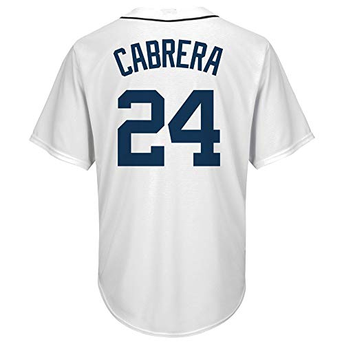 (PGONENET Miguel_Cabrera_White_Big_&_Tall_Alternate_Cool_Base_Replica_Player_Jersey)