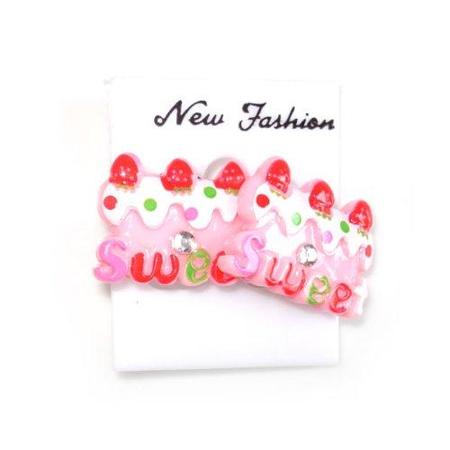 Idin Clip-on Earrings - Pink sweet cake clip-on earrings