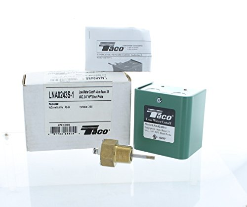 Taco LNA0243S-1 24V Auto Reset Low Water Cutoff with Short Probe