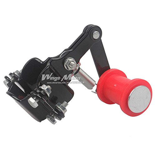 Wingsmoto Motorcycle Universal Chain Tensioner Guide Dirt Pit Bike with Backup Long - Tensioner Chain