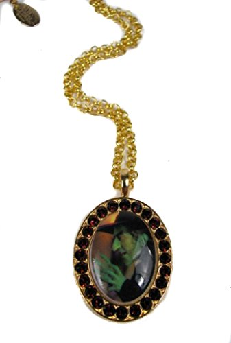 Tarina Tarantino Necklace Wizard Of Oz Bad Witch Crystal Cameo 18