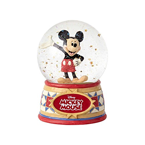 Disney Traditions Mickey Mouse 5 1/2-Inch Water Globe