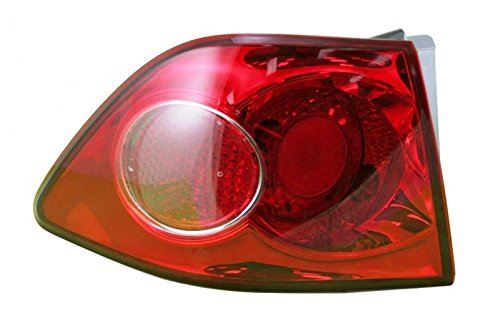 OUTER Taillight Taillamp Lamp LH Left Driver Side For 06-08 Kia Optima Magentis