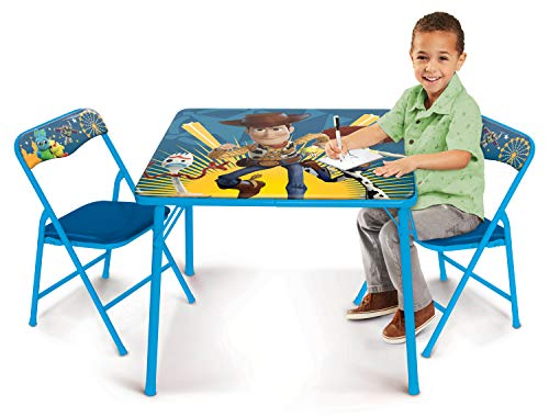 (Jakks Pacific Toy Story Activity Table Set with Two Chairs)