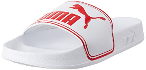 Puma Leadcat, Mules Homme Mixte Adulte Blanc (Puma White-barbados Cherry 05)