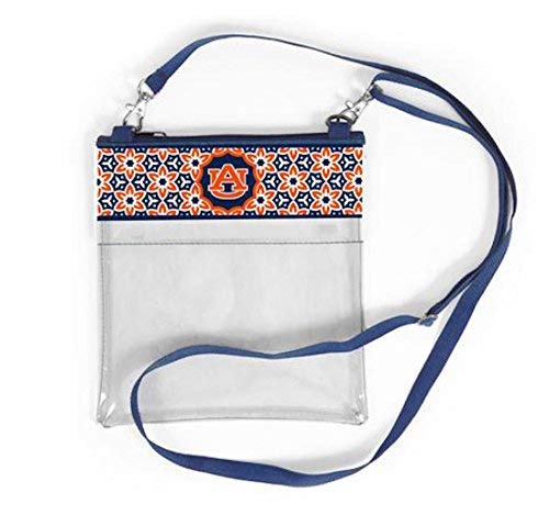 Desden Auburn Tigers Clear Gameday Crossbody Bag