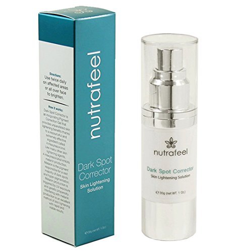 Solution Control Pigment (Dark Spot Corrector by Nutrafeel | HYALURONIC Acid | JOJOBA Oil | Vitamin B3 | A SAFE and Powerful Skin Brightening & Pigment Corrector Serum | More Effective than Harmful Hydroquinone!)