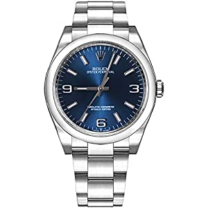 Best Epic Trends 41MaoSwO1OL._SS300_ Rolex Oyster Perpetual 36 Blue Dial Women's Luxury Watch 116000-BLUASO