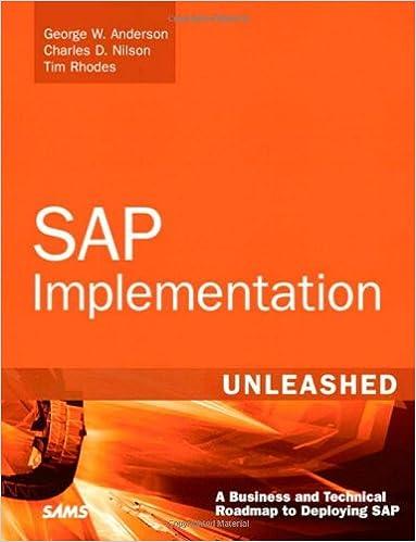 SAP Implementation Unleashed